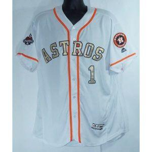 Houston Astros Carlos Correa World Series Jersey